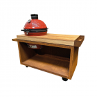 OFYR Kamado Table PRO Teak Wood KJ